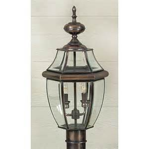 Copper Lighting Fixture Ny9042ac Quoizel Lighting Ny9042ac Newbury Outdoor Fixture In Aged Copper Goinglighting