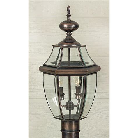 Outdoor Copper Light Fixtures Ny9042ac Quoizel Lighting Ny9042ac Newbury Outdoor Fixture In Aged Copper Goinglighting