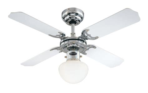 portland ambiance ceiling fan with white and black blades