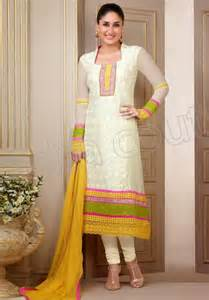 in suite designs fashion style semi georgette salwar kameez dress 2014