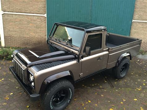 land rover pickup truck low mileage defender 110 pick up olivers classics
