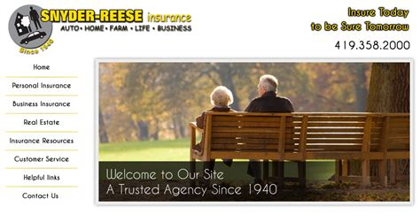 snyder reese insurance home page