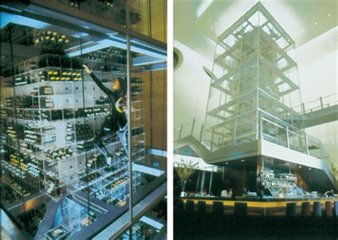 Wine Racks Las Vegas by Four Story Wine Rack Made From Acrylic The Plastic