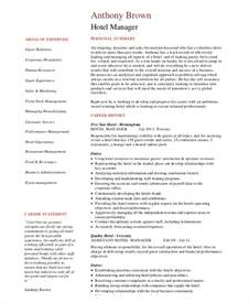 Resume Operations Manager Hotel 7 Operations Manager Resume Free Sle Exle Format Free Premium Templates