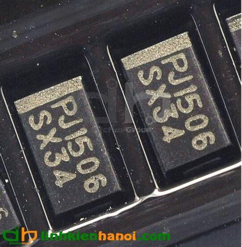 Smd Dioda Ss34 diode 1n5822 ss34 3a 40v smd