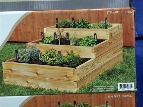 costco raised bed costco 1019482 lapp structures raised garden bed