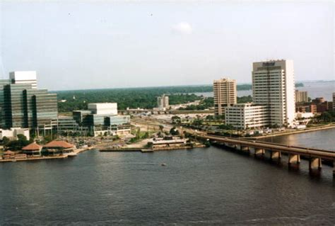 Jacksonville Florida Court Records Florida Memory Aerial View Of The Downtown Jacksonville Jacksonville Florida