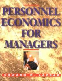 personnel economics books economics book covers 600 649