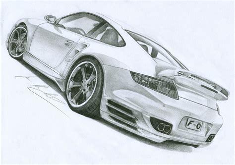 porsche drawing porsche 911 by ilov2xlr8 on deviantart