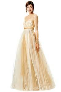 gold wedding dress now trending gold wedding dresses dipped in lace