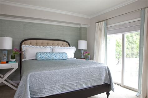 grasscloth wallcovering blue shades  grasscloth