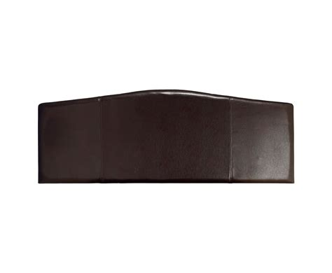 headboard leather rosie brown faux leather headboard just headboards