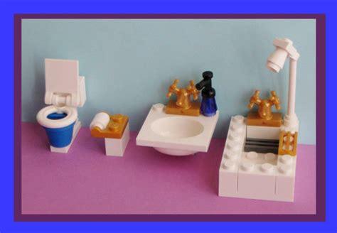 lego bathroom accessories custom deluxe lego bathroom wc loo toilet no