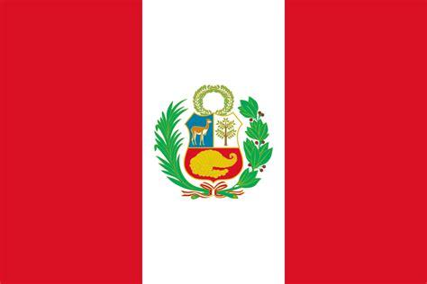 peru color flag of peru