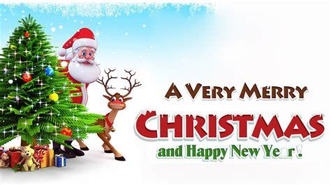 merry christmas  happy  year  festivals