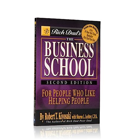 Buku The Business School Robert T Kiyosaki Rich Poor buku rich s the business school the way to