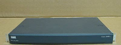 Cisco Router 2600 Second cisco 2600 series 2600xm 1u wired network ethernet router 800 20059 02