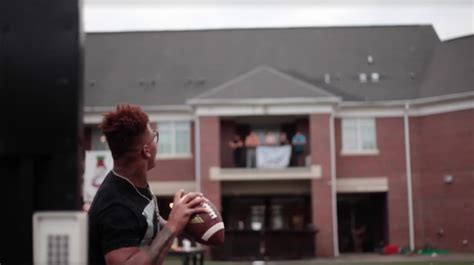 fsu pike house total frat move deondre francois completes fsu qb rite of passage throws football