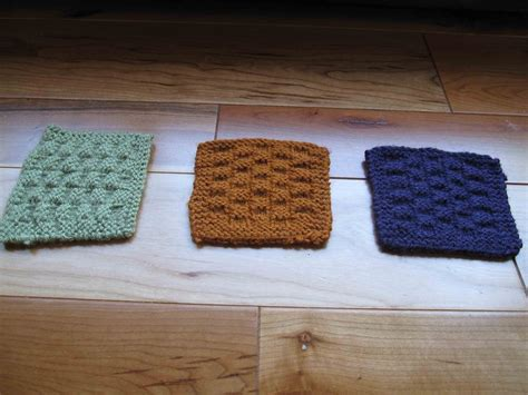knitted coasters knit basket or checkerboard coasters 183 how to stitch a