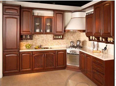 china la cereza roja de madera solida marrones color de diseno de cocinas gabinetes comprar