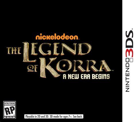 3ds The Legend Of Korra A New Era Begins a few more details about the legend of korra 3ds the legend of korra a new era begins