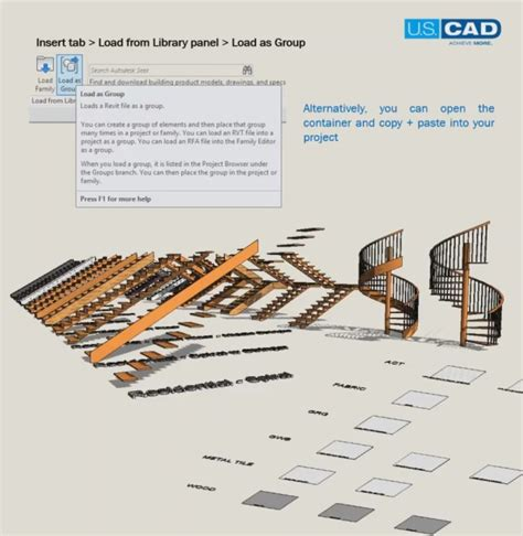 revit tutorial understanding families groups and blocks 7 steps for setting up your revit library u s cad