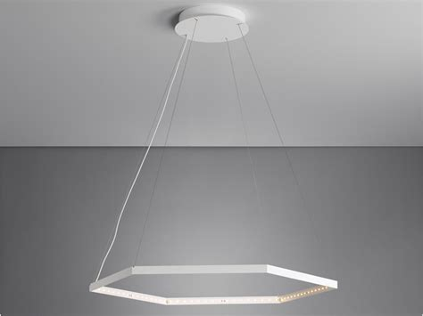 Lu Indirect Led led direct light indirect light steel pendant l hexa 1