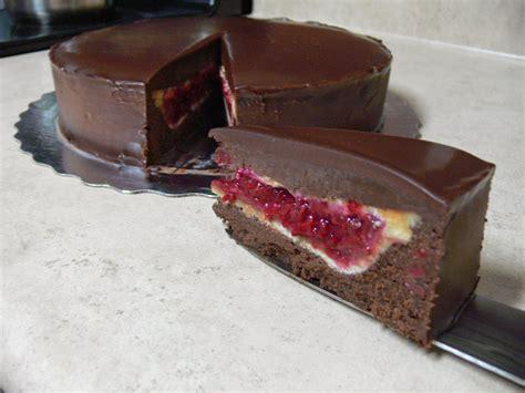 love pie love cake piecaken raspberry pie nestled in a flourless dark chocolate cake recipe