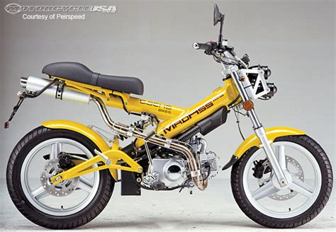 Sachs Motorrad Online Shop by 2010 Sachs Madass 125 First Look Motorcycle Usa