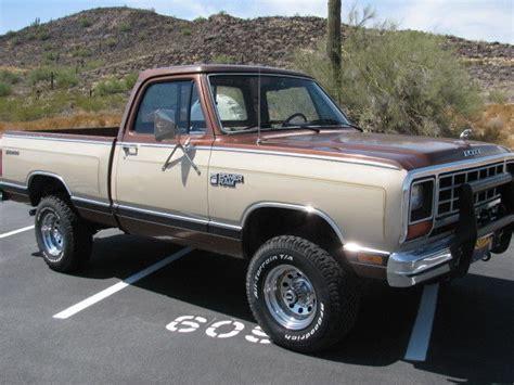dodge prospector 4x4 1984 dodge w150 base standard cab 2 door 5 2l 4x4