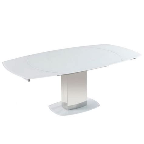 rotating dining table bolivia rotating extendable glass dining table in