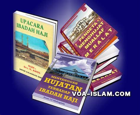 Buku Muslims Seri Haji Qurban kristenisasi berkedok haji beredar buku manasik haji palsu bergambar yesus muslim semeru