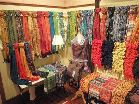 scarves an shawl display ways to display with style