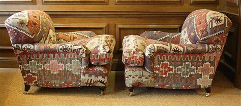 turkish sofa uk turkish kilim pair of lansdown chairs kilim upholstery