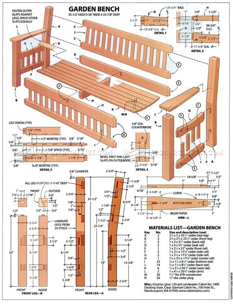 plans for building a bench garden bench diy woodarchivist