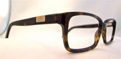 mens gucci vintage eyeglass frames tortoiseshell by