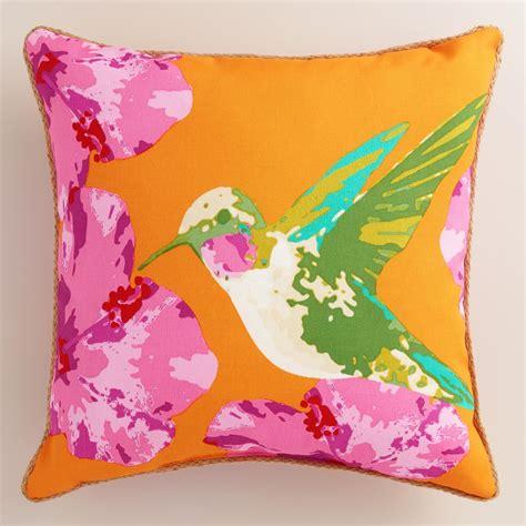 hummingbird outdoor throw pillow world market