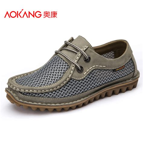 comfortable sneakers for men aokang casual shoes for men 2015 summer breathable men