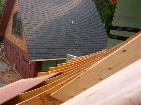 Nc House Plans 18jul13 cat slide roof is up 4 building the maple