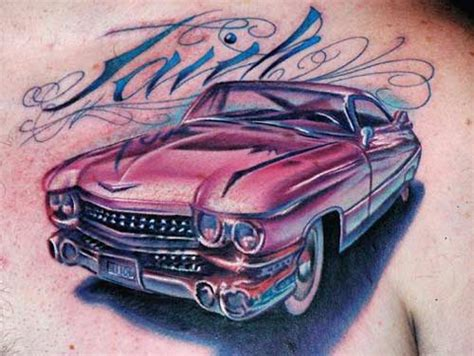 car tattoos and designs page 3