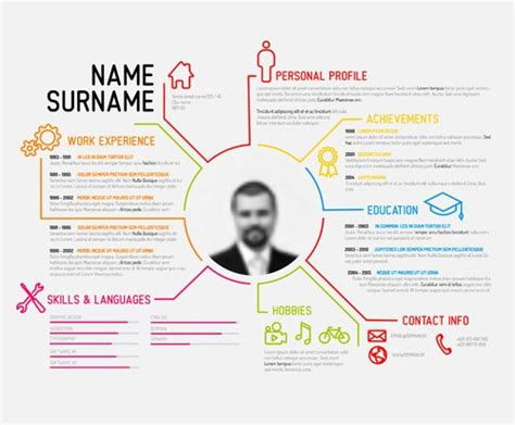 How To Make A Picture Stand Out Of Paper - 7 design tips to make your resume stand out onthehub