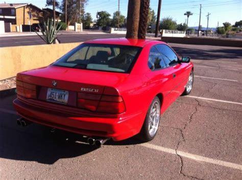 buy car manuals 1992 bmw 8 series lane departure warning purchase used 1992 bmw 850i in scottsdale arizona united states for us 10 000 00