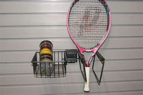 Tennis Racks by Garage Slatwall Accessories
