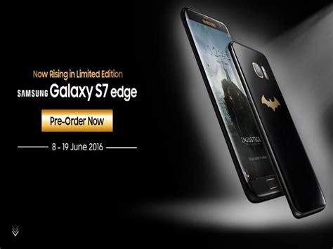 Harga Samsung S7 Edge Batman samsung galaxy s7 edge batman edition resmi dijual bisa