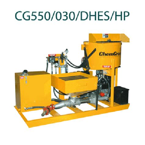 cg 550 030 rugged high pressure series chemgrout