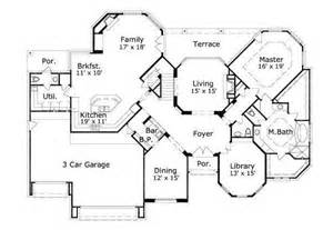 floor plans for a 5 bedroom house 4370 square feet 7 bedrooms 4 batrooms 2 parking space