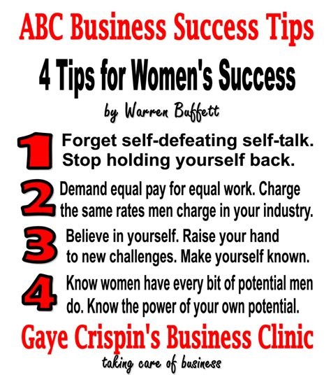 career advice for women tips for having a successful career warren buffett quotes on success quotesgram