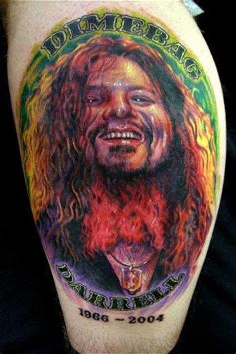 kid rock paul tattoo paul acker dimebag darrell tattoos