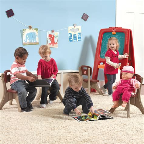 Step Traditions Table Chair Set - new traditions chairs kids table amp chairs set step2