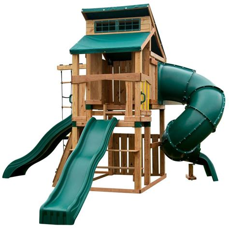 swing n slide alpine swing n slide playsets hideaway clubhouse ultimate playset